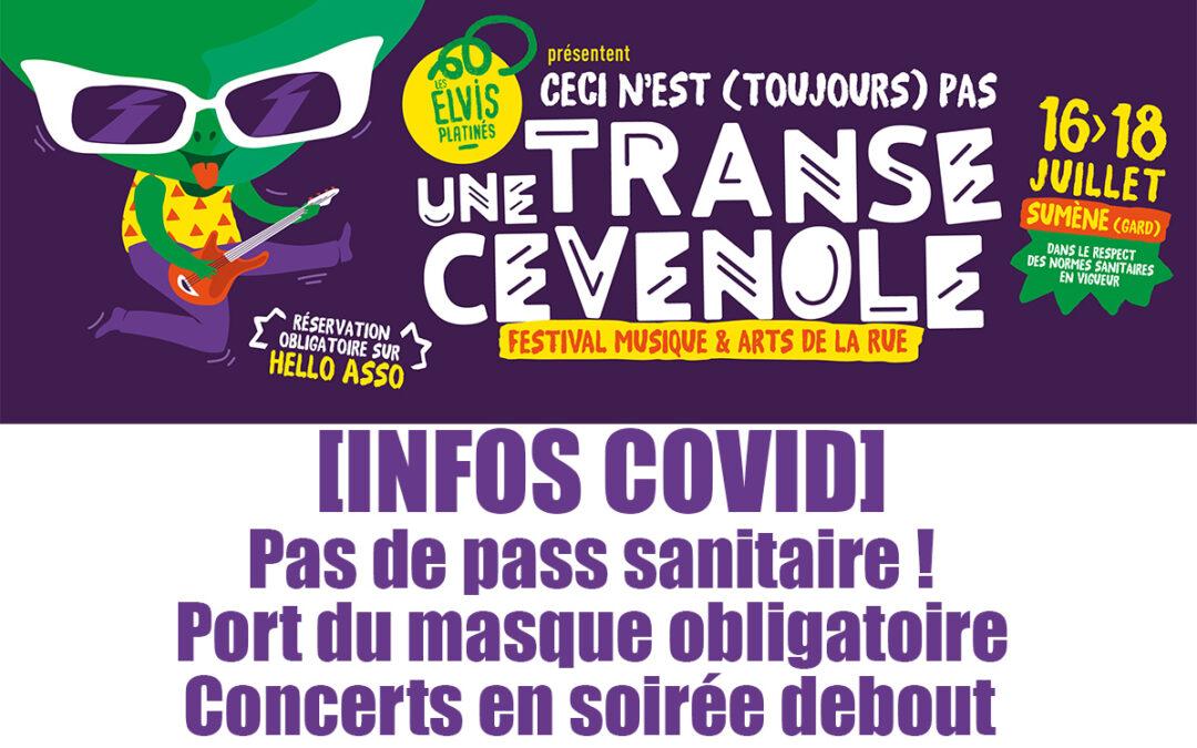 Un festival debout et sans pass sanitaire !